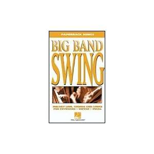 Big Band Swing Paperback Songbook Musical Instruments