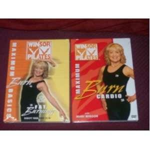 WINSOR PILATES 2 DVD SET: MAXIMUM BURN CARDIO with Mari Winsor
