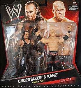 UNDERTAKER & KANE WWE MATTEL 11 TAG TEAM FIGURE