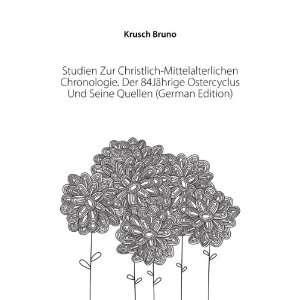 Ostercyclus Und Seine Quellen (German Edition) Krusch Bruno Books