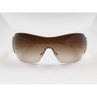 Prada Sunglasses Women SPR 29L ZVA 6S1 Ivory Color Brown Lens