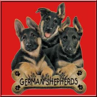 German Shepherd Puppies w/Bone WOMENS SHIRTS S XL,2X,3X