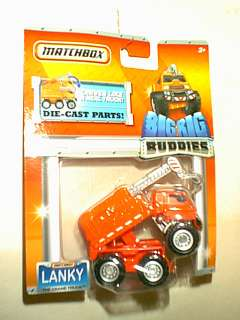 MATCHBOX  LANKY THE CRANE TRUCK  BIG RIG BUDDIES