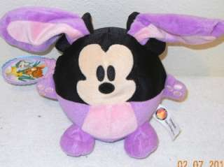 Walt Disney World Mickey Mouse Easter Bunny Gift Tag