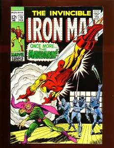 The Invincible Iron Man #10 Mandarin App High Grade NM 9.2/9.4