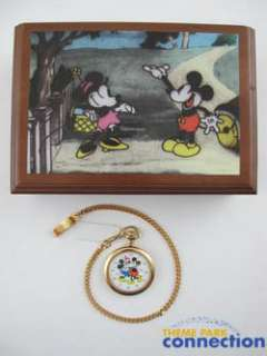 Disney Watch Collectors Club Series 5 LE MICKEY MINNIE MOUSE Pocket