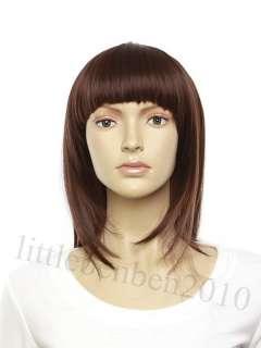 Fashion Sexy Lady Long Straight Wig 33DB/99Wine/3Black FZ506