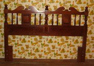 Tell City Chair Co. Hard Rock Maple Full or Queen Headboard Cherry #95