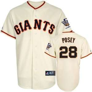 Buster Posey Jersey San Francisco Giants #28 Home Replica Jersey with