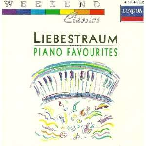 Liebestraum Piano Favorites Various Music