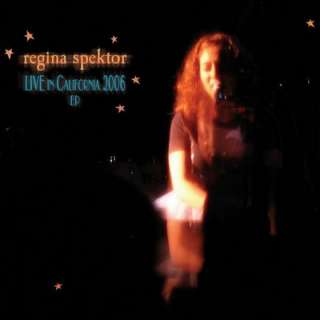 REGINA SPEKTOR   LIVE IN CALIFORNIA 2006 CD   NEW 054391573926