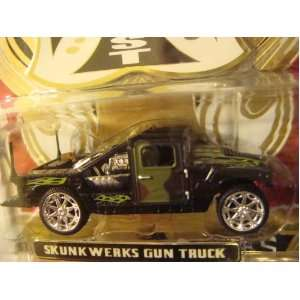 West Coast Choppers Jesse James Design Skunky Werks Gun Truck Scale 1