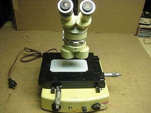 microscope WILD HEERBRUGG stereo zoom microscope M5 22100 50x zoom