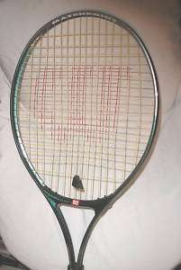 WILSON MATCHPOINT TENNIS RACKET W/ SOFT SHOCK GRIP