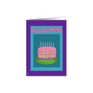On Your 21st Birthday Card: Toys & Games