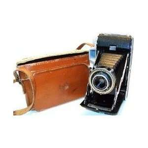 Vintage Kodak Tourist Folding Land Camera With Case