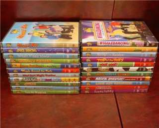 Kid Holiday DVD Lot - 2 Holiday DVDs (New) Barney Angelina ...