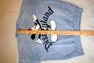 Disneyland Mickey Mouse One Size Fits All (Large) Sweatshirt Blue 50