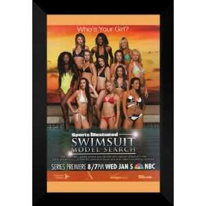Sports Illustrated Swimsuit Model 27x40 FRAMED Poster