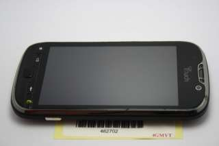 HTC MYTOUCH 4G BLACK CELL PHONE T MOBILE GSM WIFI ANDROID 482702