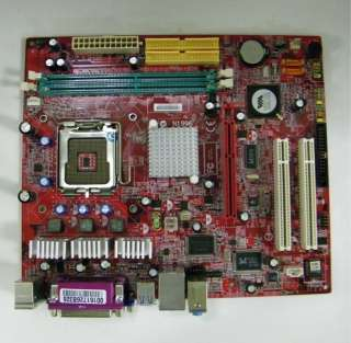 The item for sale is a MSI MS 7211 PM8M3 V Motherboard , in good