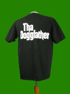 Vtg 90s SNOOP DOGGY DOGG THA DOGGFATHER T SHIRT Death Row Records 1996