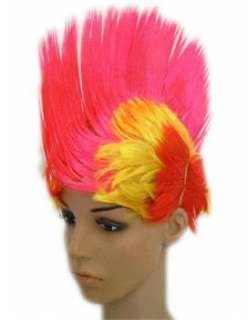Color rooster head wig Indian hair color hair random wigs py 016