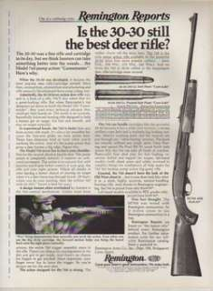 1974 Remington MODEL 760 ADL DEER RIFLE ad