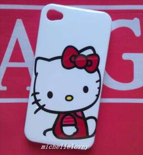 New Cute Cartoon Hello Kitty Back Cover Case for iPhone 4 4S 4G FH58
