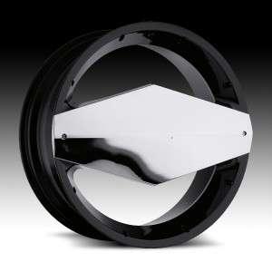 20 inch Vision Morgana Black Wheels Rims 5x112 +38