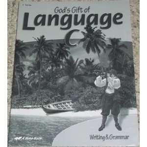 Gift of Language C Writing & Grammar Test Key Phyllis Rand Books