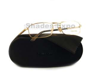 NEW TOM FORD EYEGLASSES TF 5032 GOLD 772 TF5032 AUTH