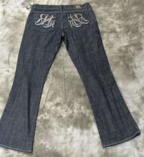 NEW Rock & Republic Womens Kasandra Jeans Dark Blue size 30