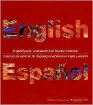 English/Spanish Anatomical Chart Desktop Collection 34 Comprehensive
