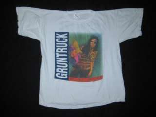 Vtg GRUNTRUCK 1992 TOUR T SHIRT the accused soundgarden