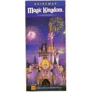 2006 walt disney world Magic Kingdom Guide map