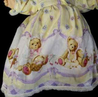 80s Vtg Hasbro Real Baby Doll Judith Turner Signed