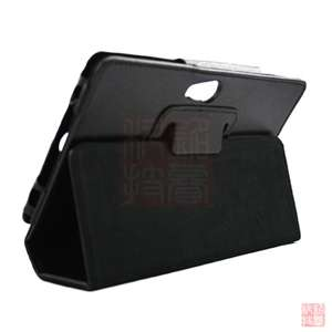 Folio Leather Case Cover w/Stand for Acer Iconia Tab A100,Black