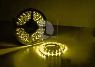 Blue Waterproof 5M 600 Led 3528 SMD Flexible Lamp Strip Light for Car