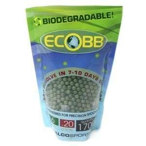 biodegradable airsoft BBs, 0.20g, 1700 rds, green