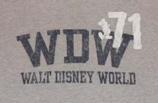 WDW 71 WALT DISNEY WORLD t shirt XL MICKEY MOUSE DISNEYLAND souvenir