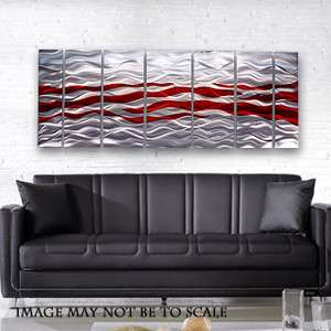 Fine Modern Metal Abstract Wall Art Painting Sculpture Decor Caliente