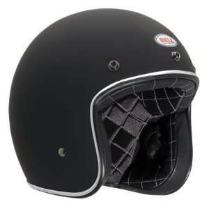 Bell Custom 500 Open Face Motorcycle Helmet Small Matte