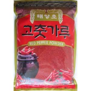 Dae Kyung Sun Baked Korean Red Pepper Coarse Powder, 3.0 Pounds