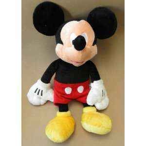 Disney Mickey Mouse Deluxe Stuffed Plush Toy   17 inches