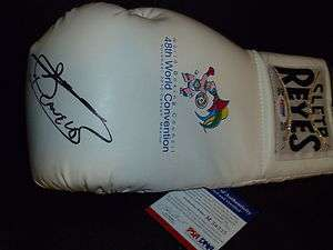 Canelo Alvarez Signed Boxing Glove PSA/DNA WBC CANCUN Exclusive