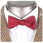 DR WHO New Official 11th Doctor Cool BOW TIE Costume Prop REPLICA Red