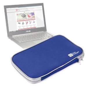 High Quality Neoprene Laptop Case Finished In Stylish Blue