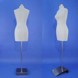 Brand New Gray Female Mannequin Dress Form F03 G