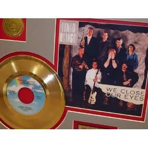 OINGO BOINGO Gold Record Limited Edition Collectible
